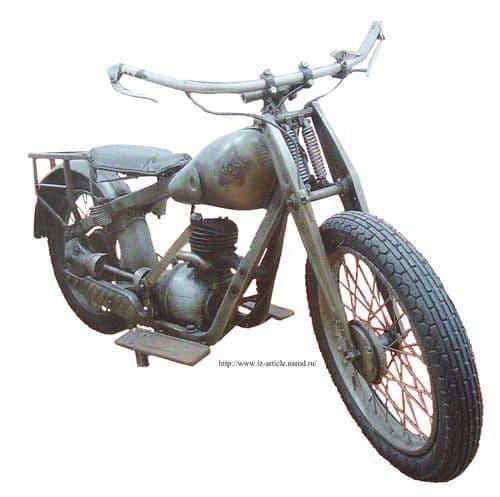 Мотоцикл иж-4 фото