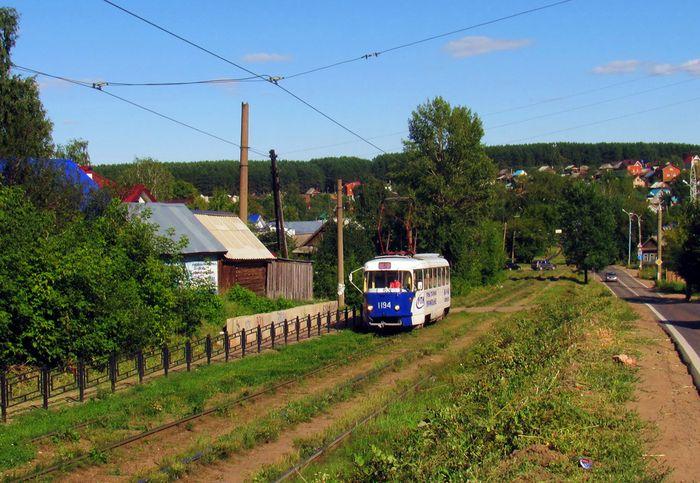 Трамвай №5. Ижевск.