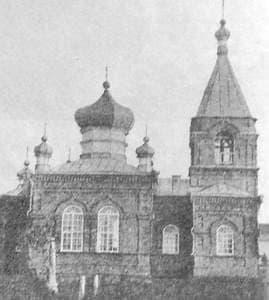 Троица. Приход основан в 1908г. Старообрядческая, белокриницкая. Русский стиль.