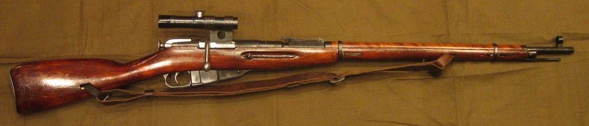 МС-74. Эта снайперская винтовка стала одной из первых самостоятельных работ Драгунова.