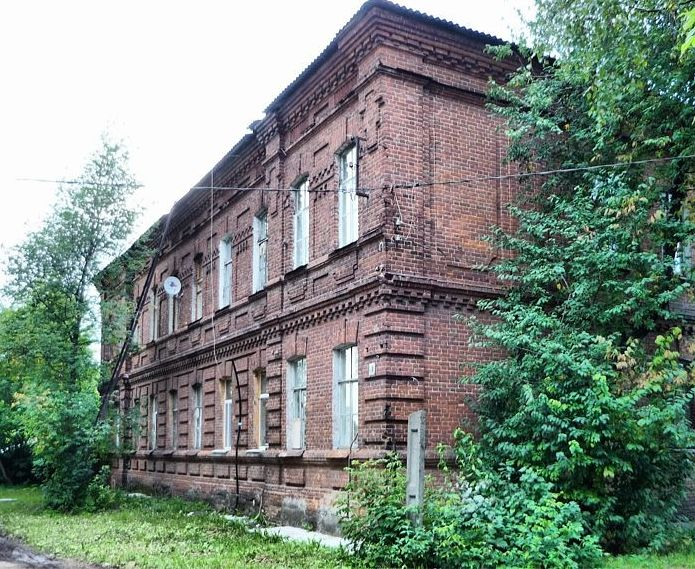 Глазовская 40 - уникальный дом 1891 года постройки. Глазов.