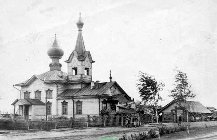 Успенская церковь. Ижевск.