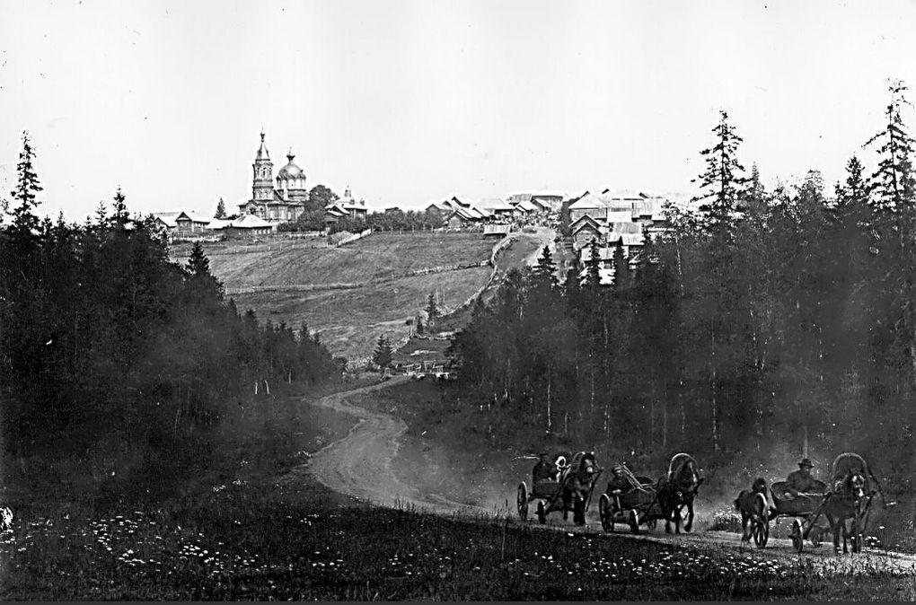 Село Святогорье, Глазовского уезда.