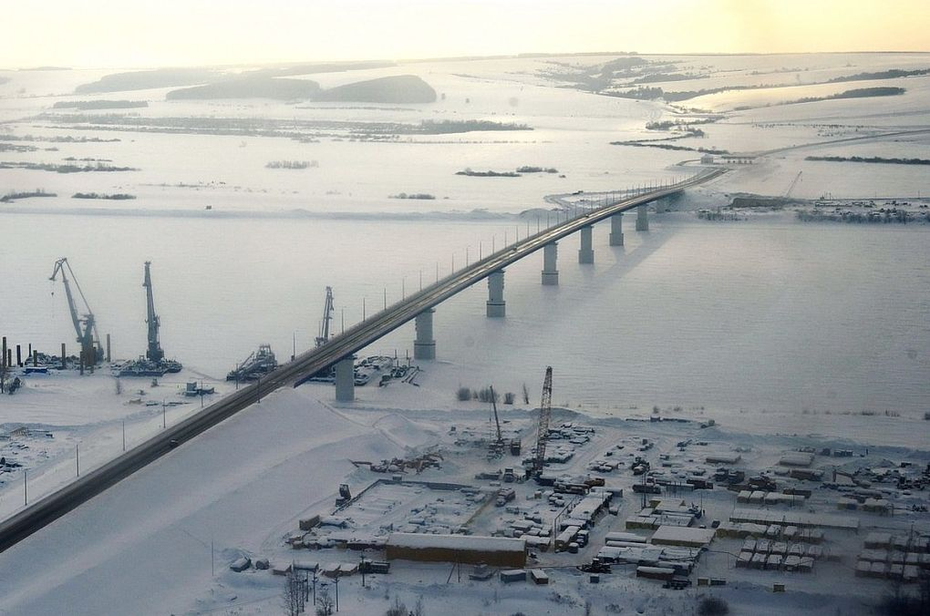 Мост через р. Кама.