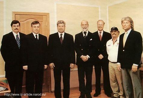 Встреча мэра города Ижевска Балакина В.В. с его королевским высочеством принцем Майклом Кентским.