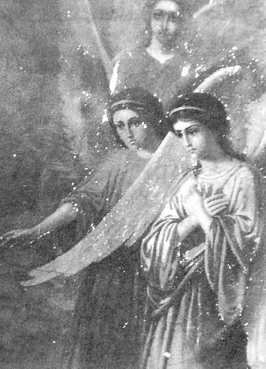Росписи храма Покрова Пресвятой Богородицы села Святогорское. 1900 г.