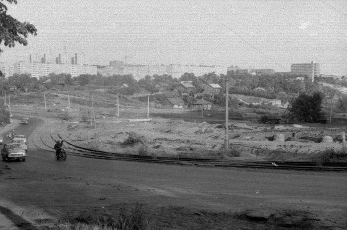 "Улица Кирова. Район ""Колтома"". Фото 1972-1973г. Ижевск."