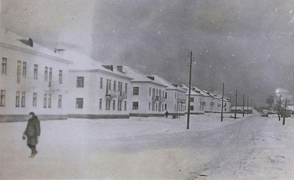 Воткинск. Рабочий поселок в районе Березовки.