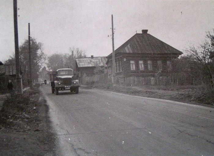 Улица Карла Либкнехта 1970-е годы. Ижевск.