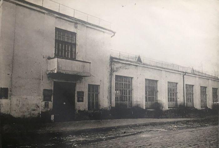 Здание областного отделения Госбанка (ныне ЦБ РФ по УР) по ул. Советская Ижевск г. 1931 год.