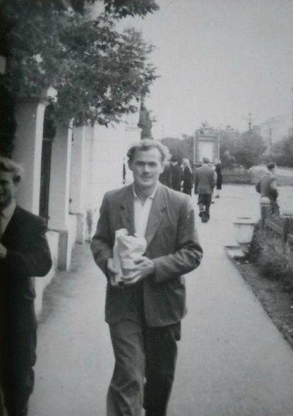Ул. Советская ДК Россия Глазов 1960 год.