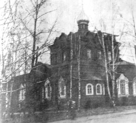 Игра. Храм открыт в честь Иоанна Богослова.