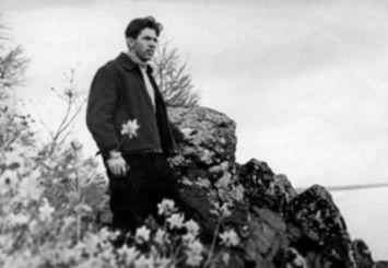 Верещагин Генрих Георгиевич на этюдах, 1963 г.