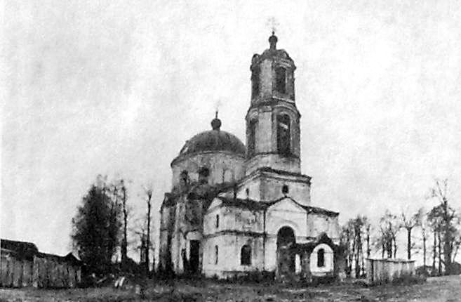 Успенская церковь в селе Яромаска в Сарапульском р-не