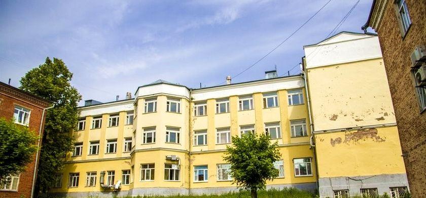 Горбольница №2 в Ижевске. ГКБ №2. 2017 г.