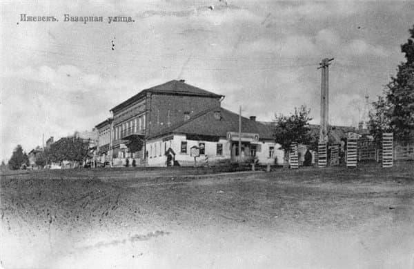 Базарная улица Ижевск