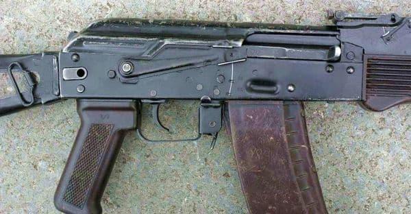 Переводчик огня АК-74.