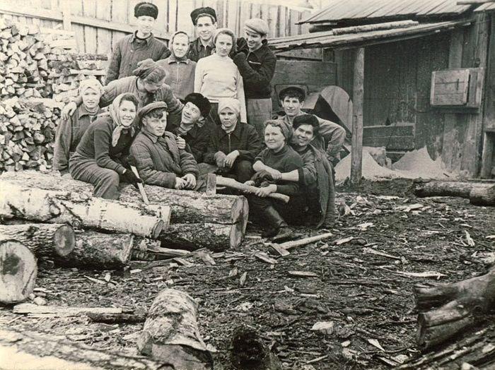 Студенты Удмуртского пединститута.
