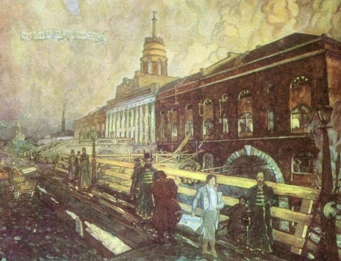 Башня Ижевского оружейного завода.