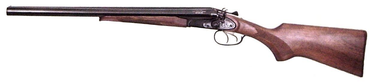 Охотничье двуствольное ружье ИЖ-43КН.