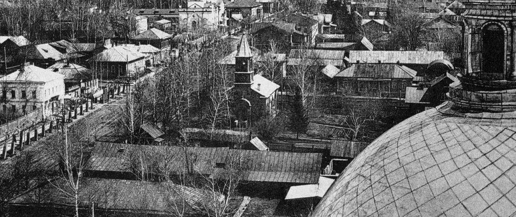 Улица Троицкая. Ильинская церковь. Кирха. Ижевск.