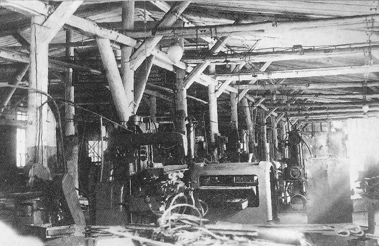 Внутренний вид производственного корпуса. Завод №622. Ижевск.