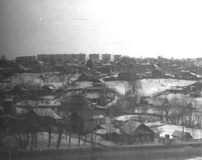 Район - Колтома. Фото 1972-1973г. Ижевск.
