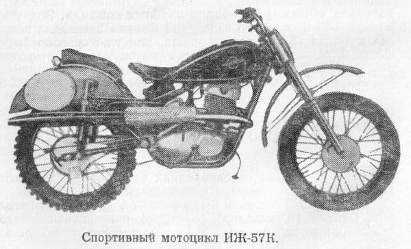 Мотоцикл ИЖ-57К