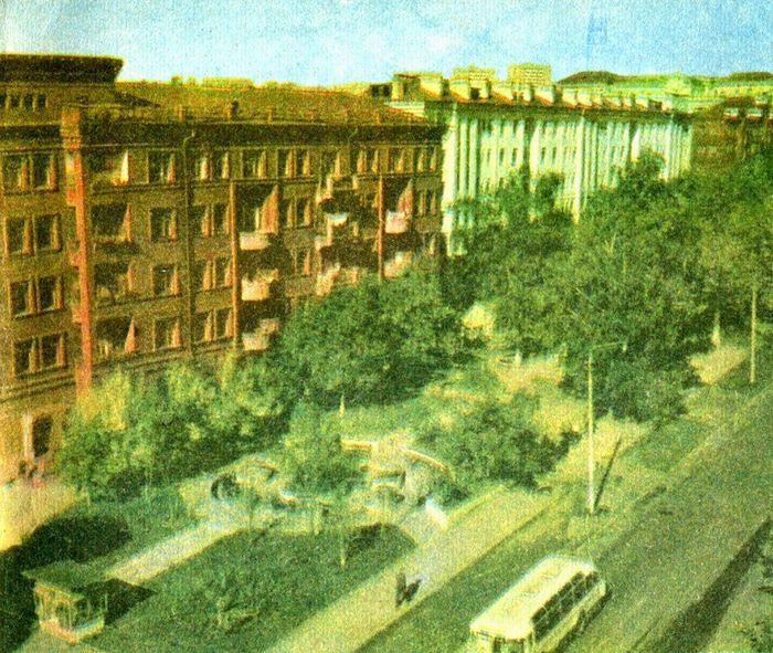 """Сквер - """"Болото"""" на ул. Коммунаров, Ижевск."""