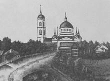 Юкаменское. Троица.Каменная Приход основан в 1793. Классицизм.