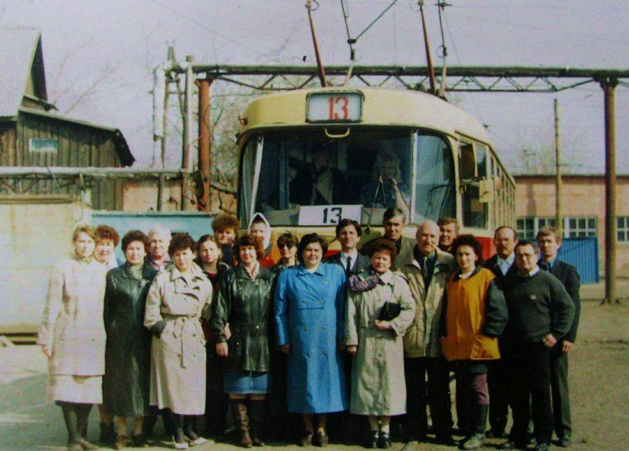 Ижевск. Трамвайный маршрут №13.