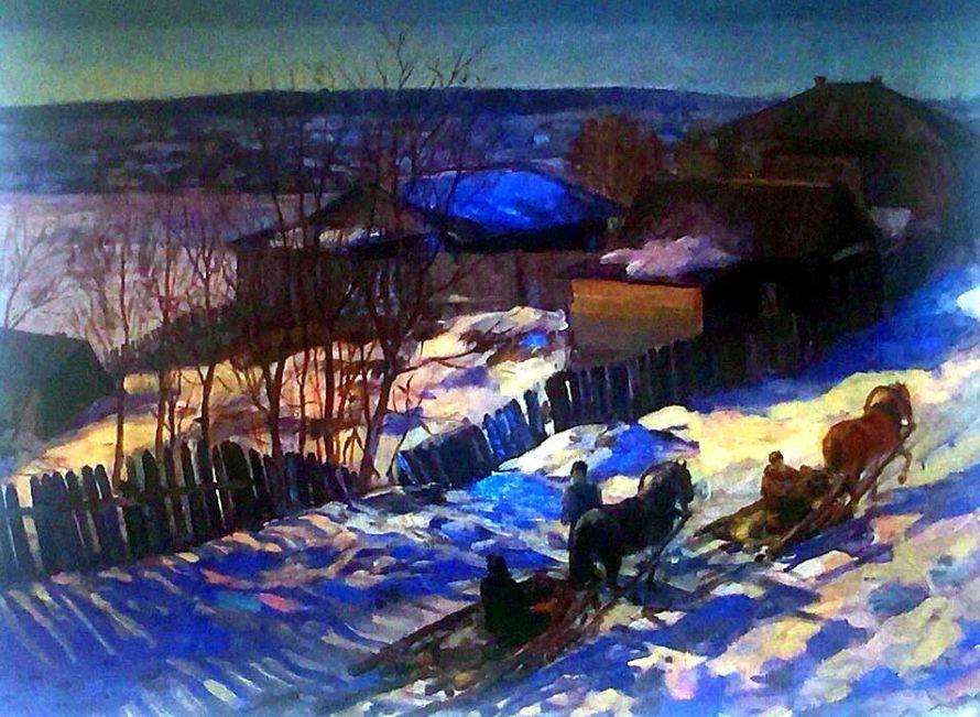 Н.А. Косолапова. Старый Ижевск (1936).