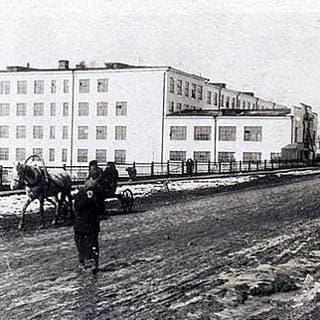 Ул. Горького 1938 год. Ижевск.
