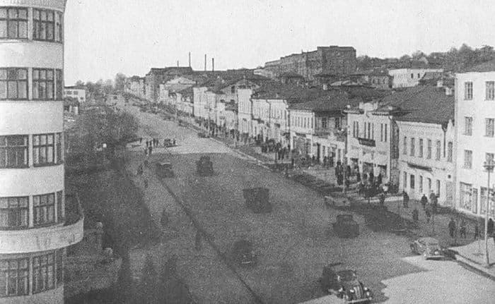 Улица М.Горького. 1959 год. Ижевск