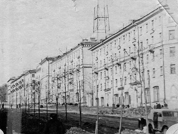 Пушкинская улица 60-70 годы. Ижевск.