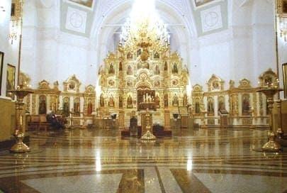 Алтарь верхнего храма. Михайловский собор. Ижевск.