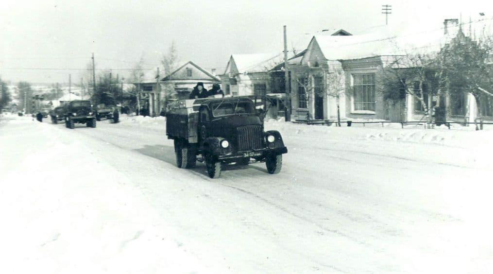 Можга г. Улица Можгинская. Фото: 1970 год.