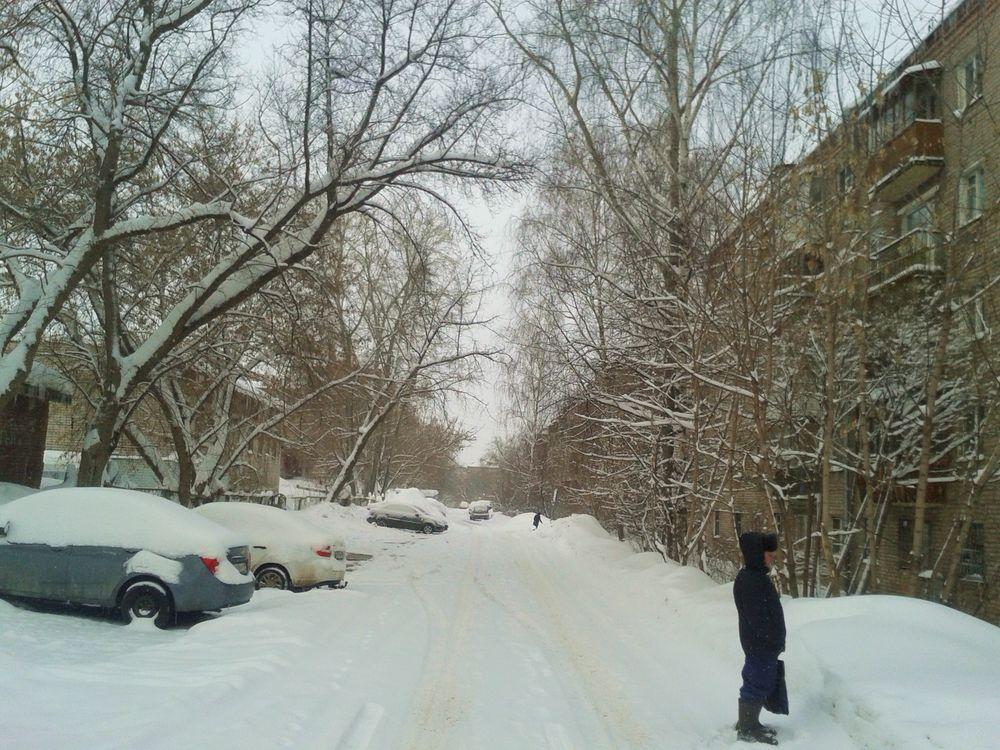 Верхне-Узенький переулок. 3 марта 2019 г., 8:49 утра. ДВА.