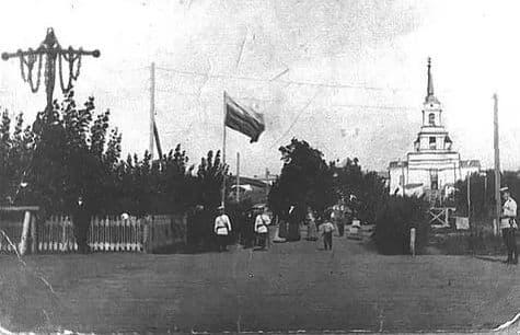 Памятник Якорь в Воткинске.