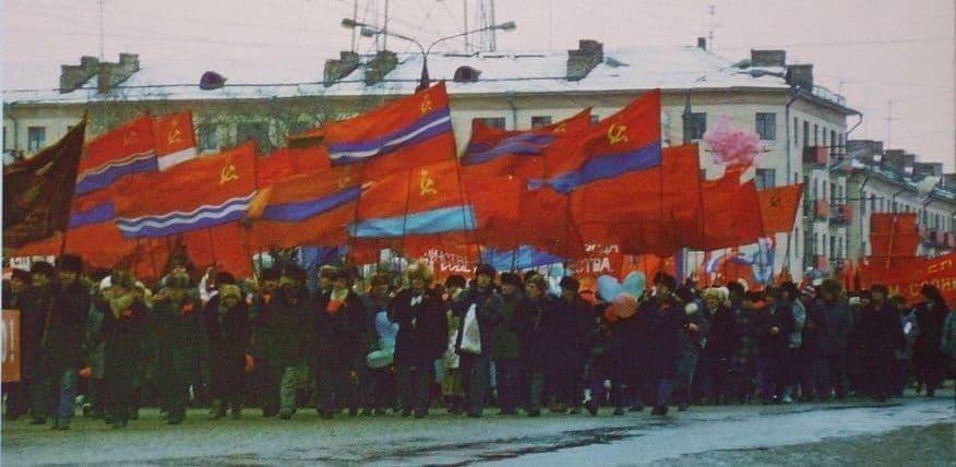 Демонстрация в Ижевске