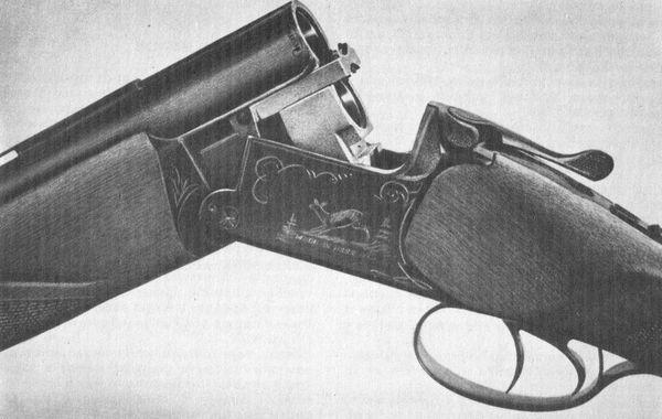 Охотничье ружье Иж-27Е (вертикалка).