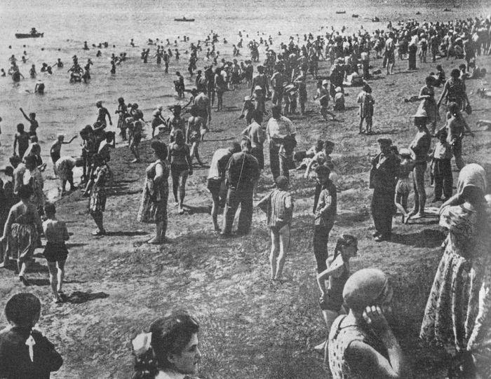 Ижевский пляж, 1967 год.