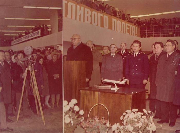 Открытие третьего Ижевского аэропорта.