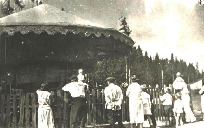Карусель в Парке Кирова, 1937 год. Ижевск.