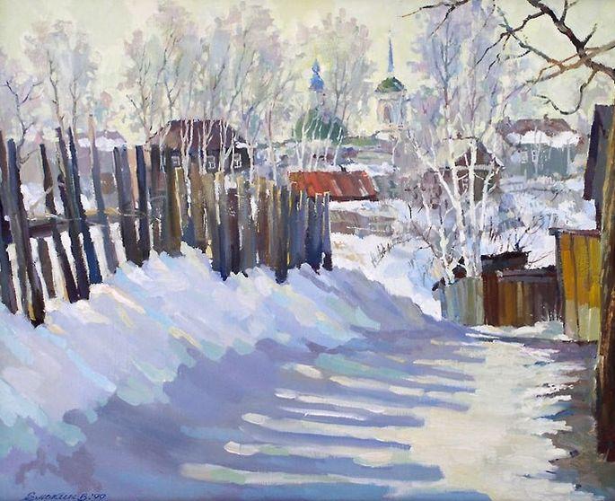 Валерий Елькин. Вербное воскресение 1999 г.