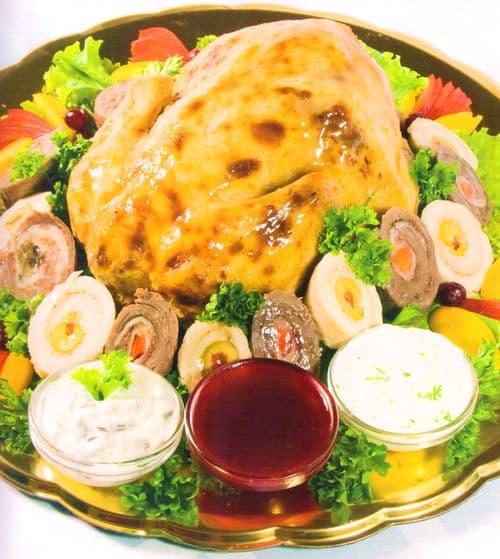 Курица ПО-УДМУРТСКИ -  удмуртъёс сямен курег. Национальные блюда удмуртской кухни.