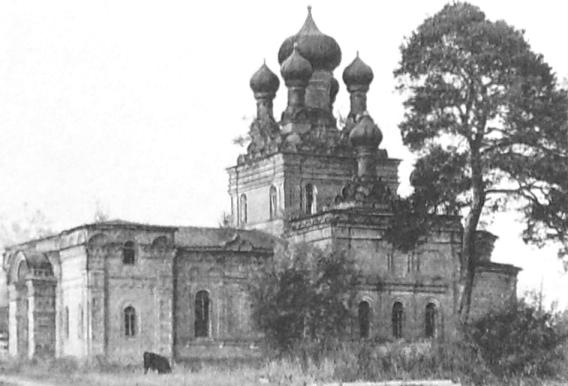 Большая Норья. Храм освящен в честь Апостолов Петра и Павла.