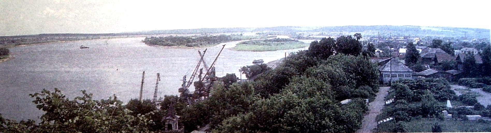 Речной порт Сарапул.