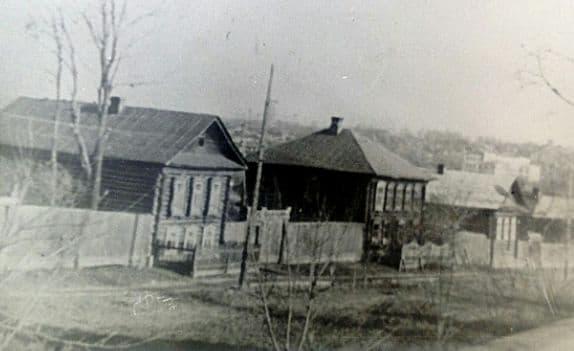 Улица Милиционная Ижевск выше улицы Кирова. Фото: 1970-е гг.