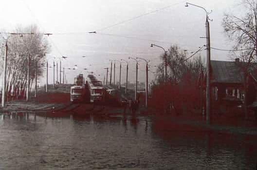 """Потоп на """"Воткинской линии"""" 1979 год."""